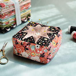 How to Make a Folded Star Pin Cushion