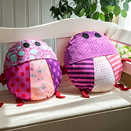 How to Make a Love Bug Pillow
