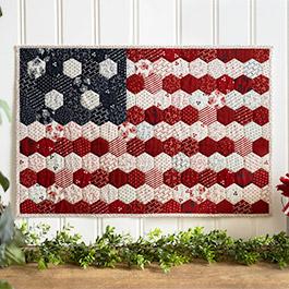 How to Make a Hexi Honeycomb Flag