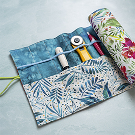 How to Make a Roll-Up Organizer