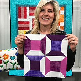 Learn to Quilt - Block 5