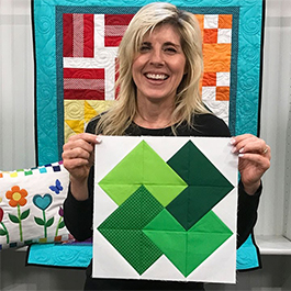 Learn to Quilt - Block 4