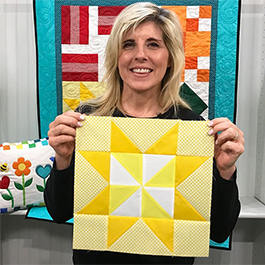 Learn to Quilt - Block 3