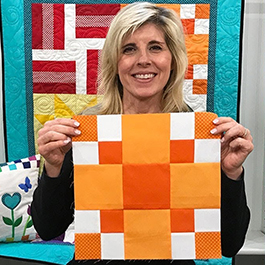 Learn to Quilt - Block 2