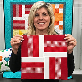 Learn to Quilt - Block 1