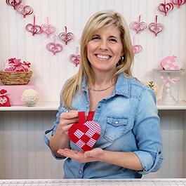 DIY Danish Heart Valentine