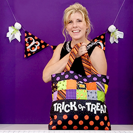 Glow in the Dark Trick or Treat Tote