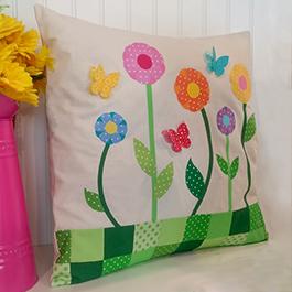 How to Make a Springtime Pillow Sham