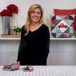 How to Make a Charm Pack Window Pillow