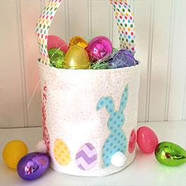 Fabric Storage Bin & Easter Bucket Tutorial