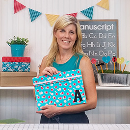 How to Make a Back-to-School Fabric Folder