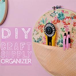 DIY Craft Supply Organizer