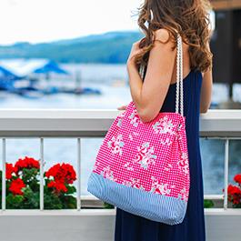 How to Make a Reversible Beach Bag