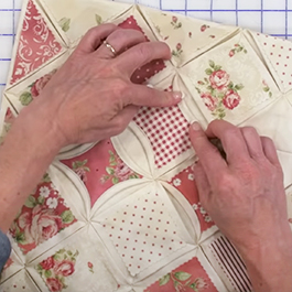 How to Make a Cathedral Window Pillow