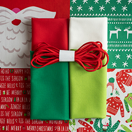 Make a Christmas Face Mask Using the Safety First Holiday Edition Panel