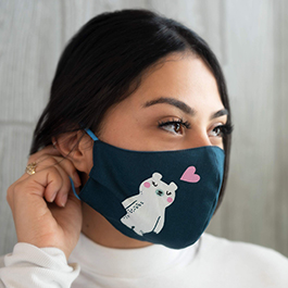 How to Make a Face Mask Using the Ruby Star Society Fabric Panel