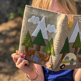 DIY Camp Journal Notebook Cover Kits from Bareroots