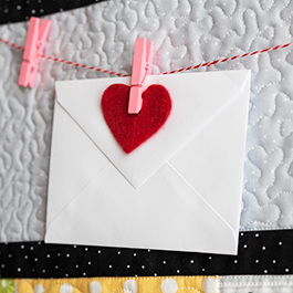 Kimberbell Love Notes Mystery Quilt - Week 2
