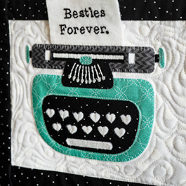 Kimberbell Love Notes Mystery Quilt - Week 3