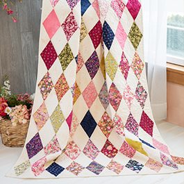 How to Make the One-Derful 60 Degree Diamond Quilt