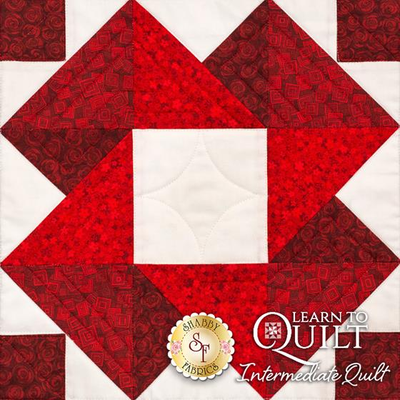 Learn to Quilt Intermediate Block One