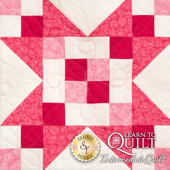 Learn to Quilt Intermediate Block Two