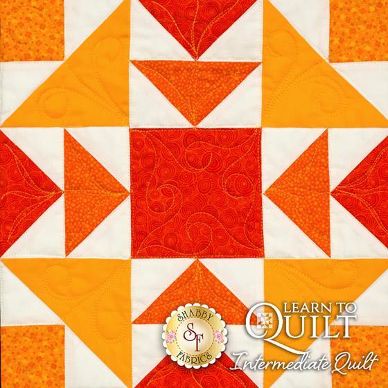 Learn to Quilt Intermediate Block Three