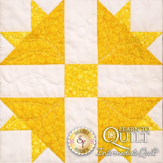 Learn to Quilt Intermediate Block Four