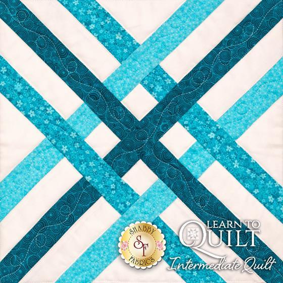 Learn to Quilt Intermediate Block Six