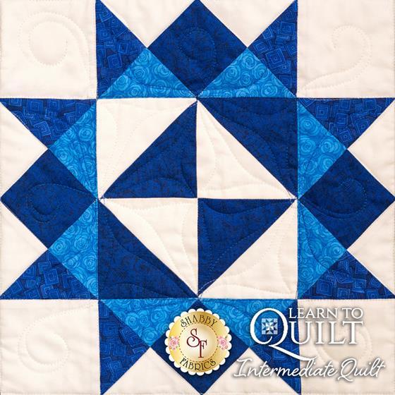 Learn to Quilt Intermediate Block Seven