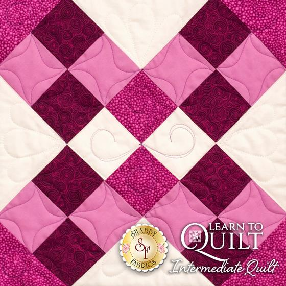 Learn to Quilt Intermediate Block Eight