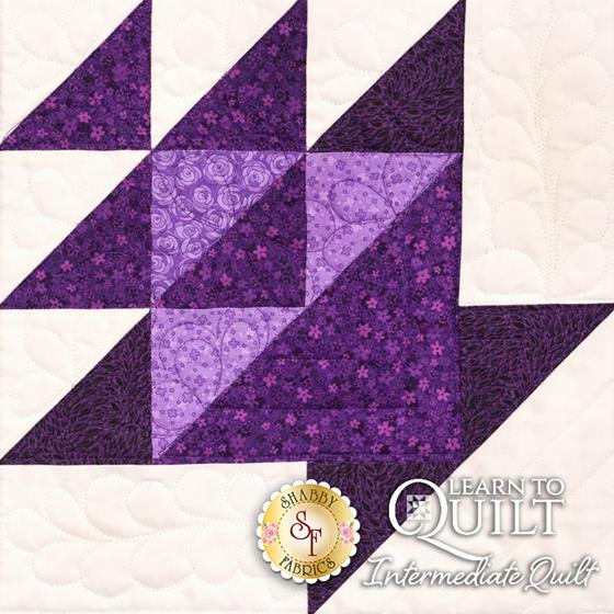 Learn to Quilt Intermediate Block Nine