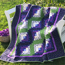 How to Make a Curvy Log Cabin Quilt Block