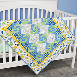 How to Make a Snail's Trail Quilt Block