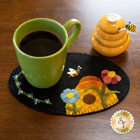 Wooly Mug Mat Series - June