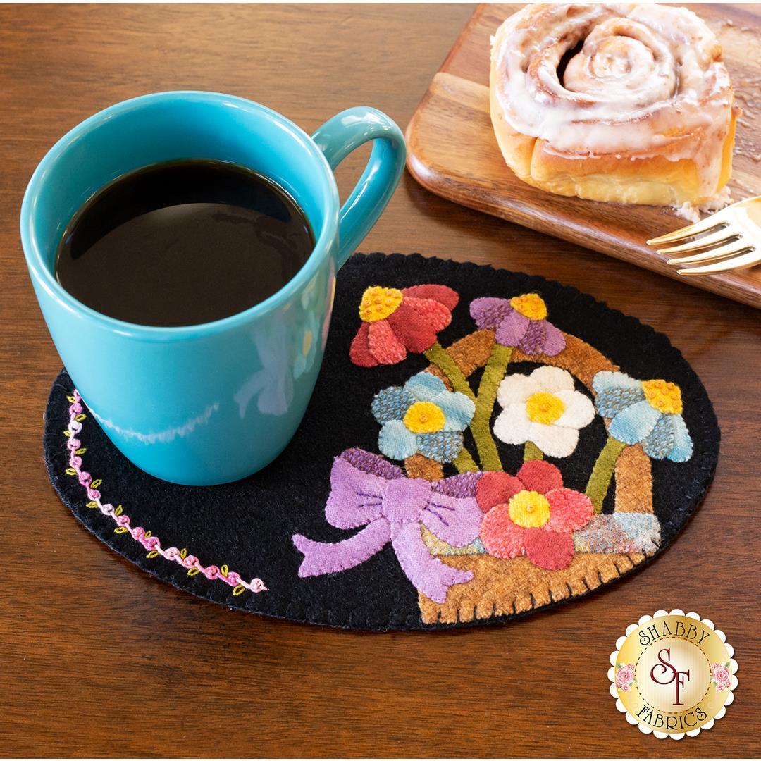Wooly Mug Mat Series - May