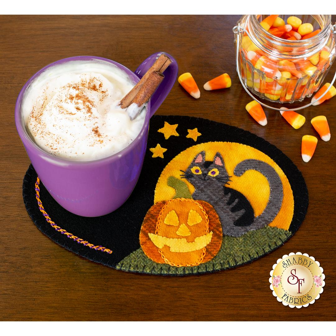 Wooly Mug Mat Series - October
