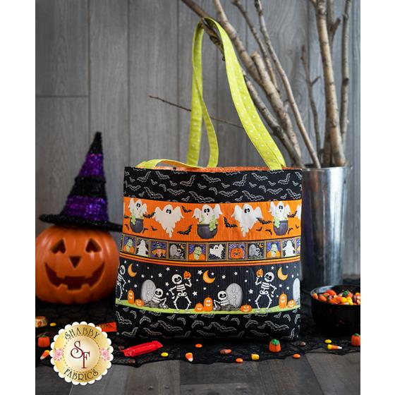 How to Make a Trick-or-Treat Tote