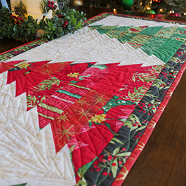 How to Make the Tree Farm Table Runner