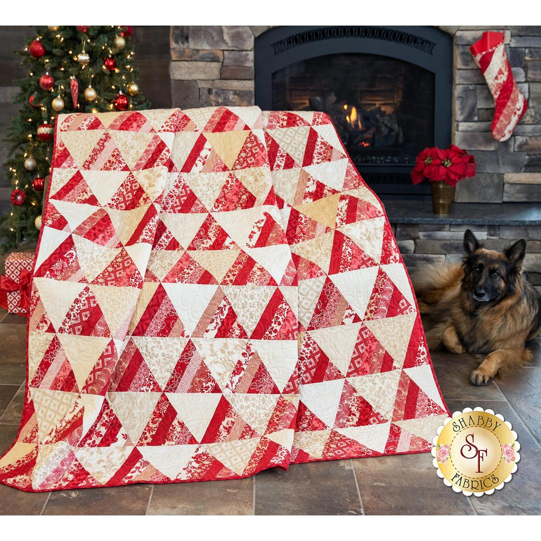 How to Make the Chateau Rouge Quilt from Moda Fabrics