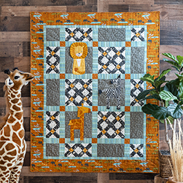 How to Make a Double Cross Quilt Block