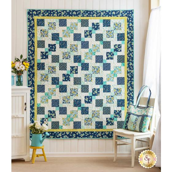 How to Make a Disappearing Nine-Patch Quilt