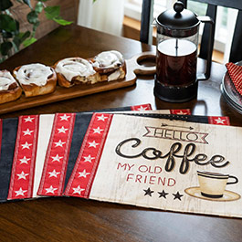 How to Make Placemats Using Fabric Panels