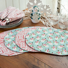 How to Make Oval Bosal Placemats