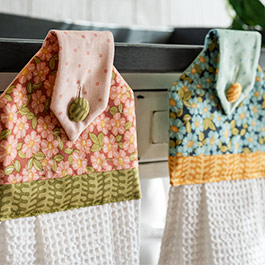 UPDATED June Tailor Hanging Towel Tutorial