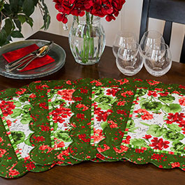 How to Make Scalloped Placemats