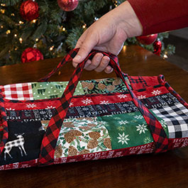 Tips for Making June Tailor Quilt As You Go Casserole Caddy