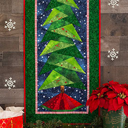 How to do Foundation Paper Piecing: A Little Bit Shorter Tall Tree