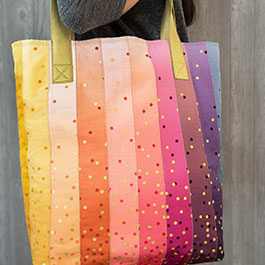 How to Make a Large Jelly Roll Tote