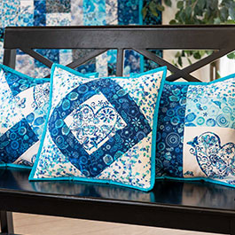 Tips for Making June Tailor Quilt As You Go Pillow Covers